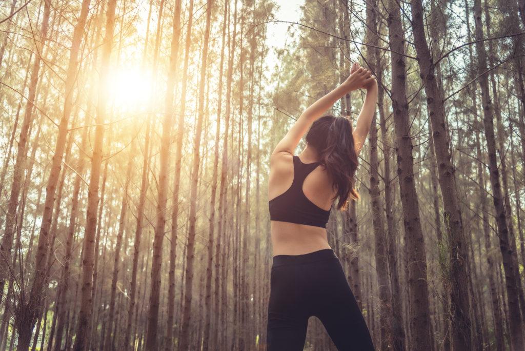 下半身の筋肉のハムストリングのストレッチ方法