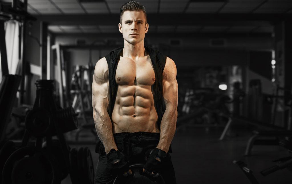 筋トレ初心者の腹筋の筋肉を自宅の筋トレメニューで綺麗に割る方法