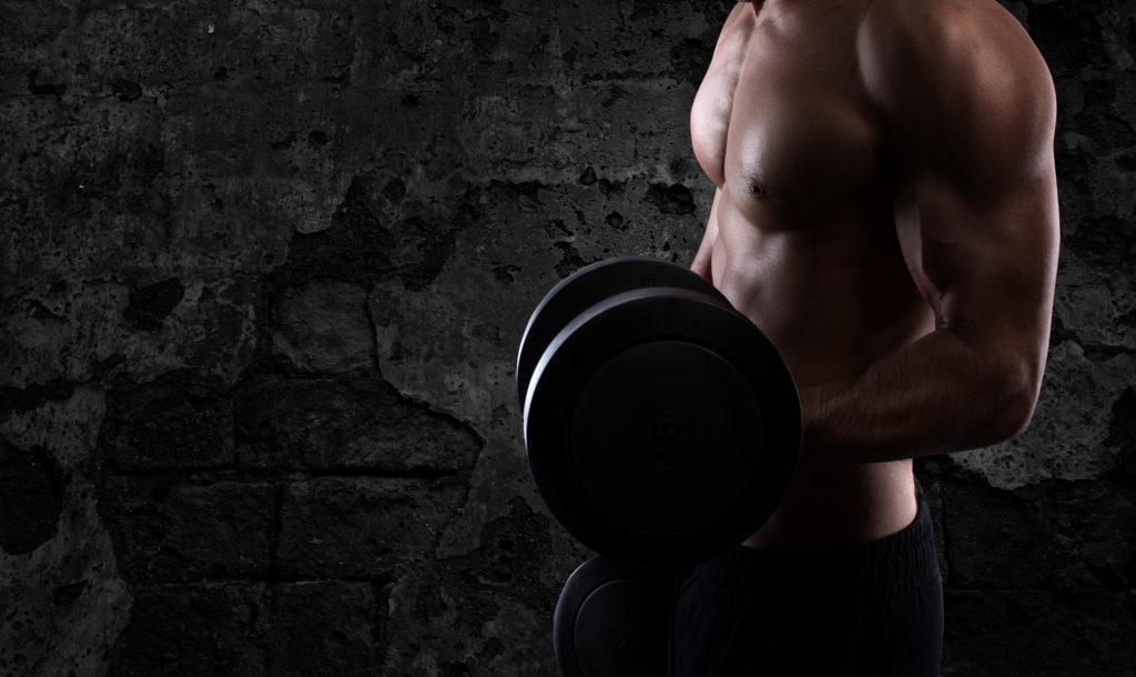 筋肥大の場合の効果のある筋肉トレーニング後の有酸素運動の時間配分